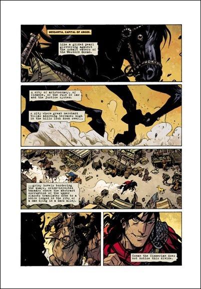 Conan the Barbarian #1 pg 1
