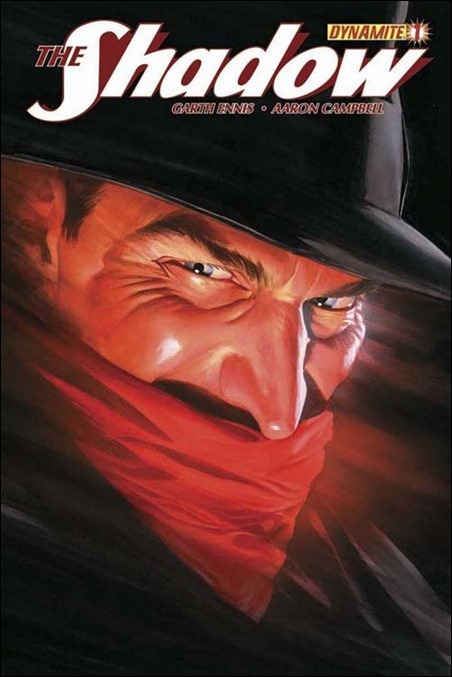 The Shadow #1 cover Alex Ross