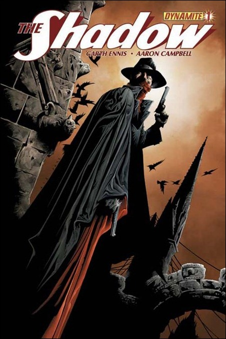 The Shadow #1 cover Jae Lee