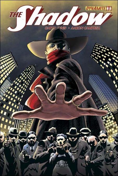 The Shadow #1 cover John Cassady