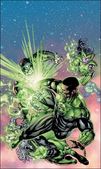GREEN LANTERN CORPS #8