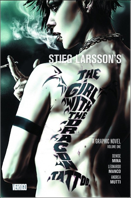 The Girl With The Dragon Tattoo GN cover