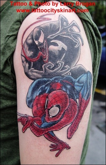 Spiderman vs Venom2