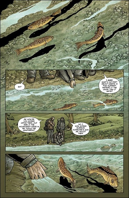 Crossed: Badlands #1 page 1