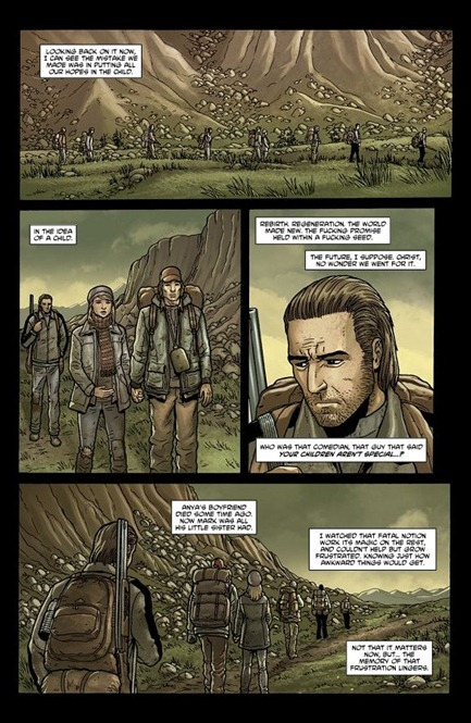 Crossed: Badlands #1 page 4