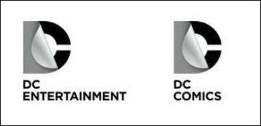 "New DC ""peel back"" logo"