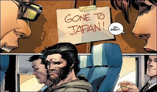 Wolverine goes back to Japan