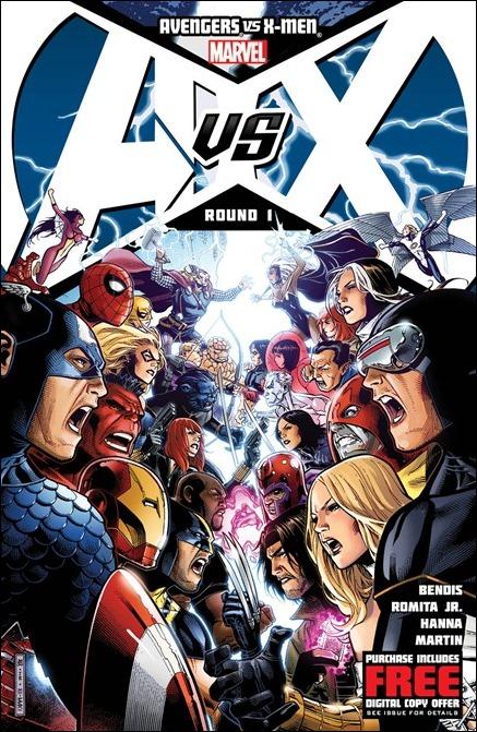 Avengers vs X-Men #1 cover