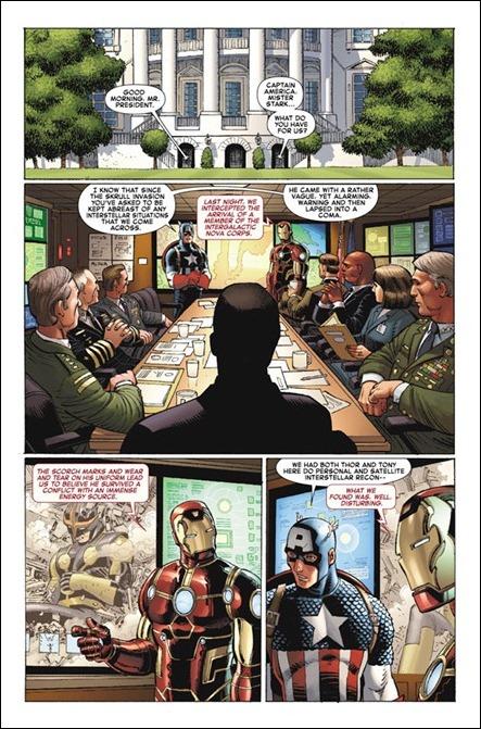 Avengers vs X-Men #1 pg 1