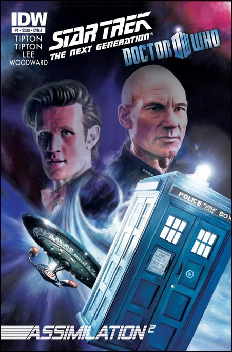 Star Trek / Doctor Who crossover by IDW