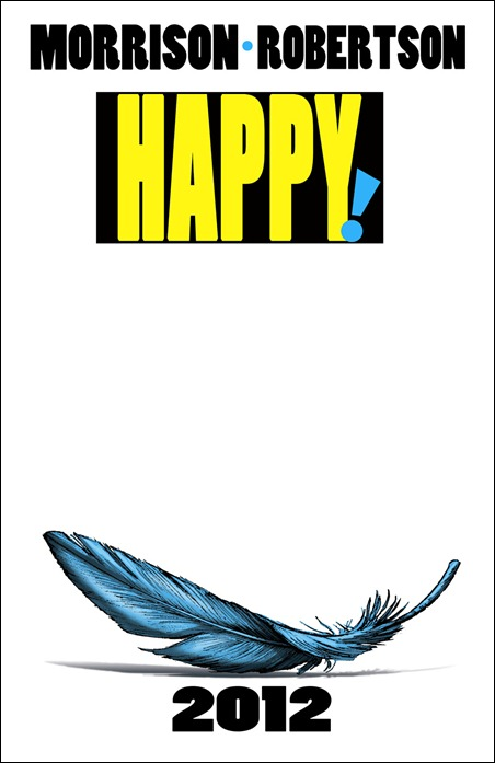 Happy! by Grank Morrison and Darick Robertson