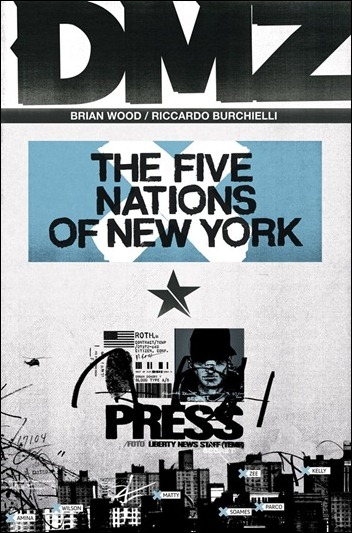 DMZ VOL. 12: THE FIVE NATIONS OF NEW YORK TP