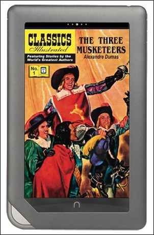 Classics Illustrated on Nook Tablet