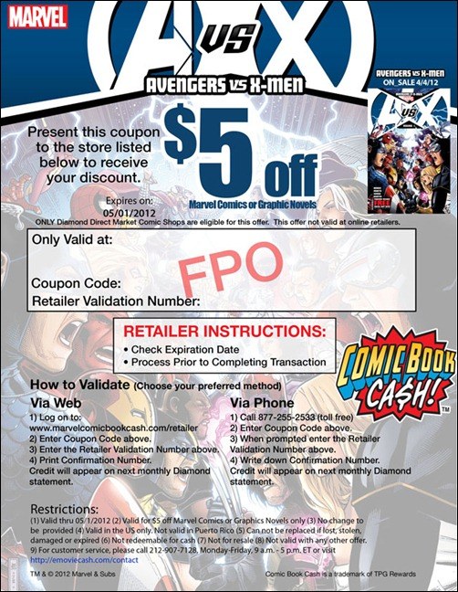 AvX Coupon with dates