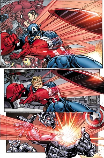 Avengers #25 preview page 1