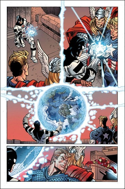 Avengers #25 preview page 2