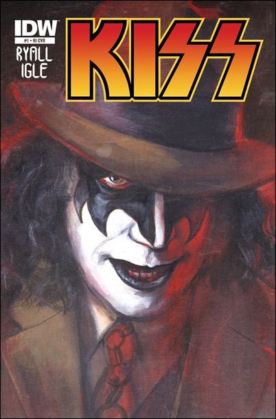 KISS #1 (IDW) cover