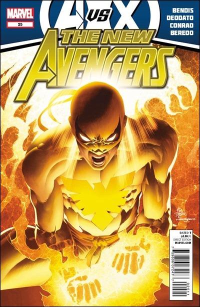 New Avengers #25 Cover
