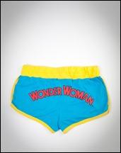 Wonder Woman booty shorts back