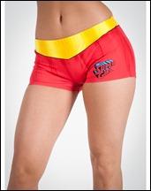 Supergirl Anatomical Pajama Set b