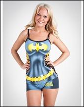 Batgirl Anatomical Pajama Set a