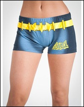 Batgirl Anatomical Pajama Set b