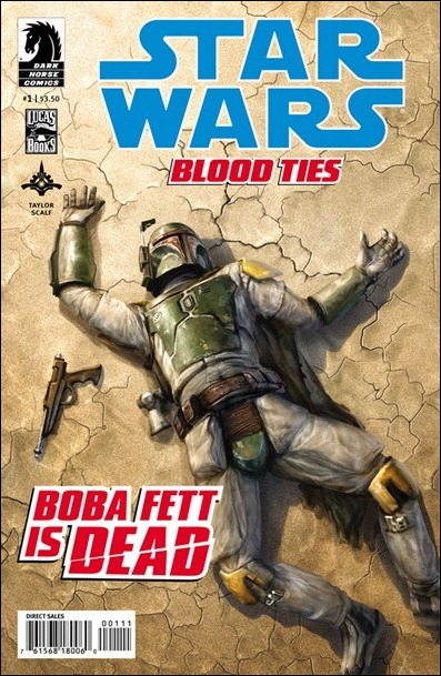 Star Wars: Blood Ties - Boba Fett is Dead #1 cover