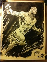 Captain Britain sketch