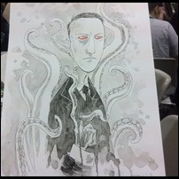 H P Lovecraft commission