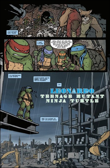 TMNT Micro Series #4: Leonardo preview 3