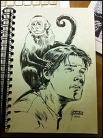 Y The Last Man Sketch