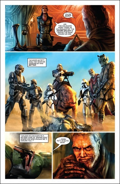 Star Wars: Blood Ties - Boba Fett is Dead #1 preview 2