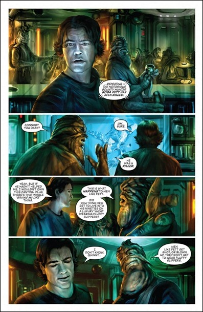 Star Wars: Blood Ties - Boba Fett is Dead #1 preview 3