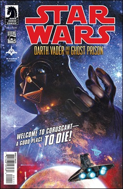 Star Wars: Darth Vader and the Ghost Prison #1 cover