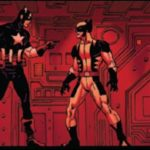Captain America vs. Wolverine in Avengers vs. X-Men #3