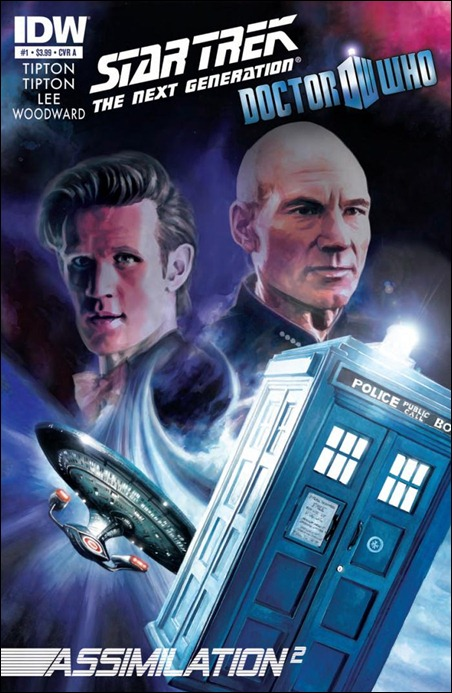 Star Trek: TNG / Doctor Who: Assimilation2 #1 cover
