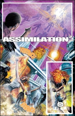 Star Trek: TNG / Doctor Who: Assimilation2 #1 preview 3