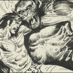 Joe Kubert's Tarzan of the Apes: Artist's Edition coming in September from IDW
