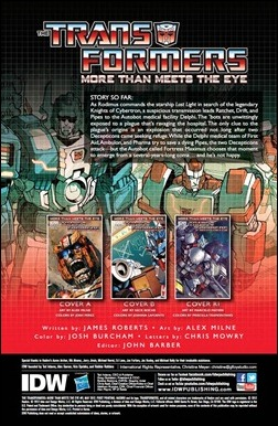 Transformers: More Than Meets The Eye #5 preview 1
