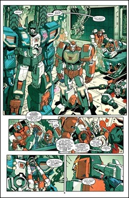 Transformers: More Than Meets The Eye #5 preview 4