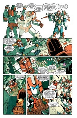 Transformers: More Than Meets The Eye #5 preview 5