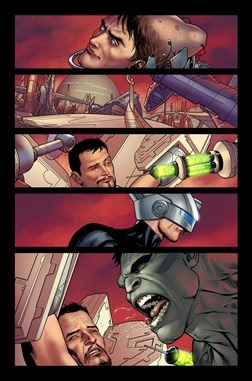 Ultimate Comics Ultimates #12 preview 2