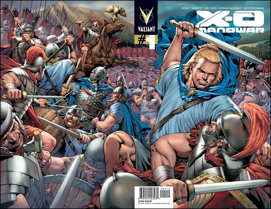 X-O Manowar #1 2nd print