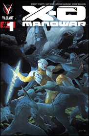 X-O Manowar #1 cover Ribic