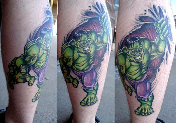 Comic Book Tattoo Gallery