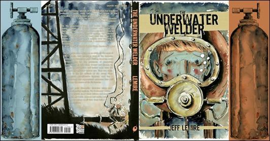 The Underwater Welder by Jeff Lemire cover