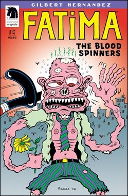 Fatima: The Blood Spinners #1 Bagge variant cover