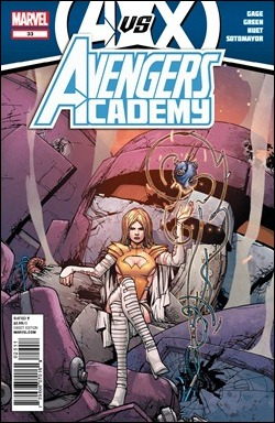Avengers Academy #33 cover