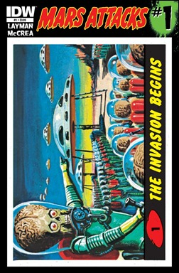 Mars Attacks #1 cover