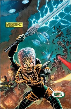 Mars Attacks #1 preview 2